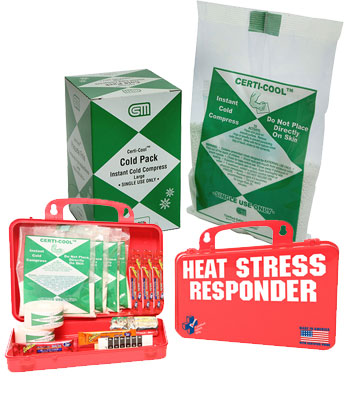 Heat Stress First Aid